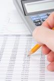 Kostenanalyse stockbild