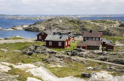 Kosterhavet nationaal park, Zweden Stock Foto
