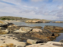Kosterhavet nationalpark Stock Afbeeldingen