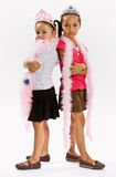 kostiumów dziewczyn princess Obraz Stock