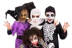 kostiumów Halloween dzieciaki Obrazy Royalty Free