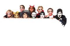 kostiumów Halloween dzieciaki Obrazy Stock