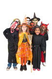kostiumów Halloween dzieciaki Fotografia Royalty Free