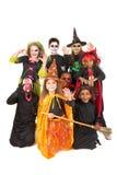 kostiumów Halloween dzieciaki Zdjęcie Stock