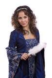 kostiumów princess kobieta zdjęcia stock