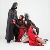 kostiumów tancerzy maski Zdjęcia Stock