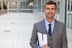 Kostium i krawat odciśnięcie zdjęcia royalty free