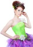 kostiumowa czarodziejska dziewczyna Fotografia Stock