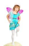 kostiumowa dancingowa dziewczyna Zdjęcia Stock