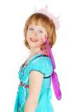 kostiumowa dancingowa dziewczyna Zdjęcie Stock