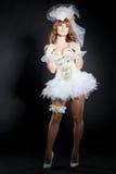 kostiumowego lali wizerunku seksowny ślub Obraz Royalty Free