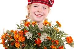 kostiumowej dziewczyny mały krajowy ukrainian Zdjęcie Stock