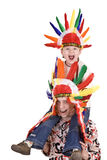 kostiumowy brata hindus dwa Fotografia Royalty Free