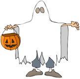 kostiumowy duch royalty ilustracja