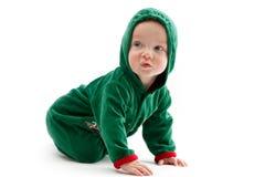 kostiumowy dziecko elf Zdjęcia Royalty Free