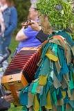 kostiumowy gałganiany lato Zdjęcia Royalty Free