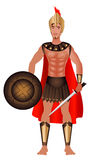 kostiumowy karnawału grek Zdjęcia Royalty Free