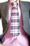 kostiumowy krawat zdjęcie stock