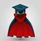 Kostiumu absolwent Obrazy Royalty Free