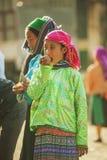 Kostiumy mniejszości etnicznych kobiety Zdjęcie Royalty Free