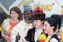 kostiumy zaludniają tradycyjnego Zdjęcie Royalty Free