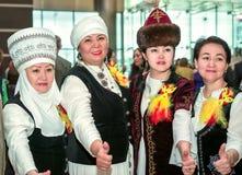 kostiumy zaludniają tradycyjnego Fotografia Stock