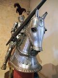 Kostiumy zbroja, Segovia, Hiszpania Zdjęcia Royalty Free
