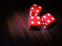 Kostka do gry, gemowy stół dla rozrywki, Zdjęcie Royalty Free