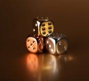 kostka do gry hazardu ryzyko Fotografia Royalty Free