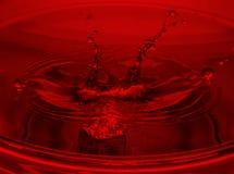 Kostka do gry w wodzie Obraz Royalty Free
