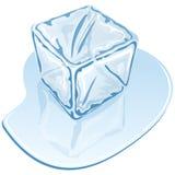 Kostka lodu Zdjęcie Stock