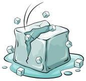 Kostka lodu ilustracji