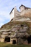 Kostkasteel in Boheems Paradijs - Toren royalty-vrije stock foto's