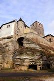 Kostkasteel in Boheems Paradijs - Toren stock foto's