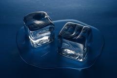 kostki lodu Obrazy Royalty Free