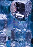 kostki lodu Zdjęcia Royalty Free