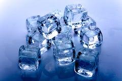 kostki lodu Fotografia Royalty Free