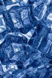 Kostki lodu tło zdjęcie royalty free