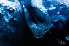 Kostki lodu tekstury tło Zdjęcie Stock