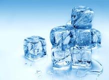 kostki podobszaru ices topnienia Obraz Stock