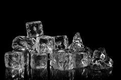kostki podobszaru ices topnienia Zdjęcia Royalty Free