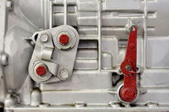 Kostkowego kastingu samochodowy silnik Obraz Stock
