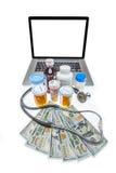 Kostnad av sjukvård Fotografering för Bildbyråer