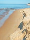 Kostnad för baltiskt hav Arkivfoton