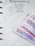 kostnader Arkivbild