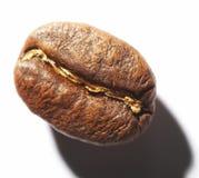 Kostprijsberekening op koffieboon stock fotografie