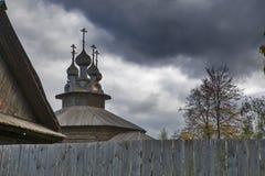Kostroma镇,俄罗斯看法,从伏尔加河 Kostroma是在伏尔加河位于的一个普遍的旅游镇,一个镇从 库存图片