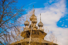 Kostroma, ο καθεδρικός ναός εκκλησιών της Virgin 1551 Στοκ Εικόνες