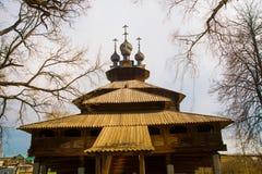 Kostroma, ο καθεδρικός ναός εκκλησιών της Virgin 1551 Στοκ εικόνα με δικαίωμα ελεύθερης χρήσης
