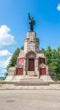 列宁雕象在Kostroma 免版税库存照片